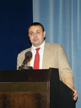 Ignacio Sánchez-Cuenca, Director de investigación del CEACS desde junio de 2008, en el acto de fin de curso, 2009