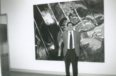 Juan Manuel Bonet en el curso sobre Expresionismo Abstracto Americano