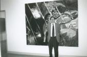 Juan Manuel Bonet en el curso sobre Expresionismo Abstracto Americano, 1999
