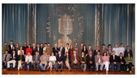 Acto de fin de curso del Centro de Estudios Avanzados en Ciencias Sociales (CEACS), 2010