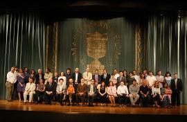 Acto de fin de curso del Centro de Estudios Avanzados en Ciencias Sociales (CEACS), 2011