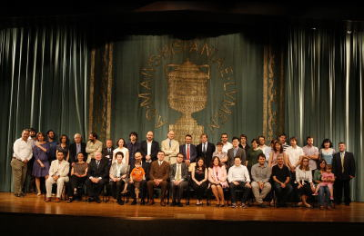 Acto de fin de curso del Centro de Estudios Avanzados en Ciencias Sociales (CEACS)