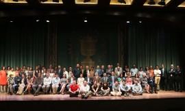 Acto de fin de curso del Centro de Estudios Avanzados en Ciencias Sociales (CEACS), 2013
