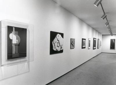 Vista parcial de la exposición Kurt Schwitters y el espíritu de la utopía Colección Ernst Schwitters