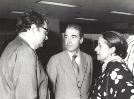 Juan March Delgado, Ramón González de Amezúa y Maribel Falla. Exposición del Centro de Documentación de la Música Española Contemporánea, 1983