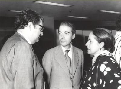 Juan March Delgado, Ramón González de Amezúa y Maribel Falla. Exposición del Centro de Documentación de la Música Española Contemporánea