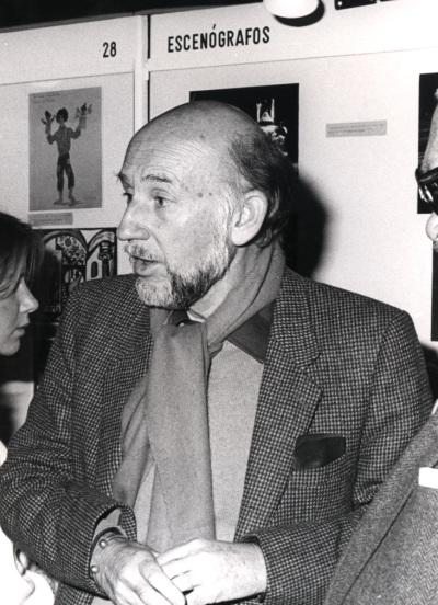 Adolfo Marsillach. Exposición gráfica con fondos sobre Teatro Español del siglo XX