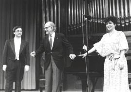 Alejandro Zabala, Xavier Montsalvatge y Atsuko Kudo. Homenaje a Xavier Montsalvatge en su 80 Aniversario, 1992