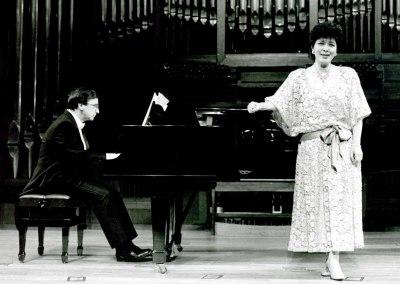 Alejandro Zabala y Atsuko Kudo. Homenaje a Xavier Montsalvatge en su 80 Aniversario