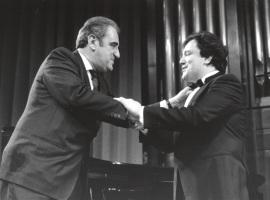 Tomás Marco y José Ramón Encinar. Homenaje a Tomás Marco, 1992