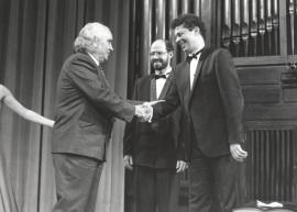 Antón García Abril, Sebastián Mariné y Leonel Morales. Concierto-Homenaje a Antón García Abril, 1993