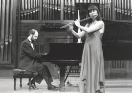 Sebastián Mariné y Juana Guillem. Concierto-Homenaje a Antón García Abril, 1993