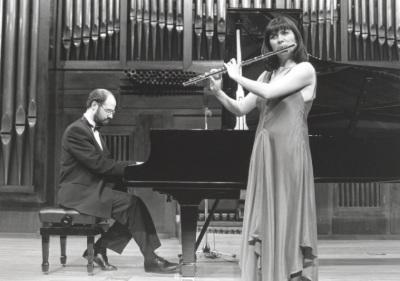 Sebastián Mariné y Juana Guillem. Concierto-Homenaje a Antón García Abril