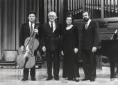Gonzalo de Olavide, Elisa Agudiez, Rafael Ramos y Josep Colom. Concierto-Homenaje a Gonzálo de Olavide, 1994