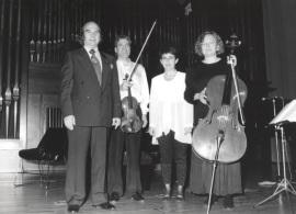 Claudio Prieto, Dúo Martín Aguirre e Inmaculada González. Homenaje a Claudio Prieto, 1995