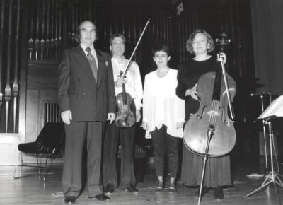 Claudio Prieto, Dúo Martín Aguirre e Inmaculada González. Homenaje a Claudio Prieto