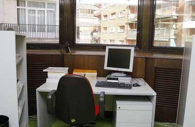 Salas de trabajo de la Biblioteca CEACS