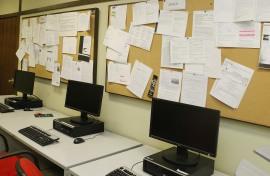 Salas de trabajo de la Biblioteca CEACS, 2011