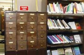 Vista parcial de la Biblioteca CEACS, 2011