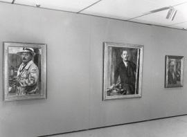 Vista parcial de la exposición Lovis Corinth, 1999
