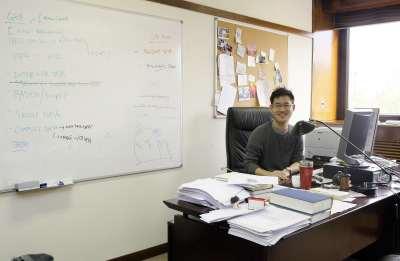 Alexander Kuo. Investigador postdoctoral.