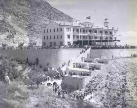 Preventorio Mariola La Asunción Alcoy (Alicante). Obra social, 1955