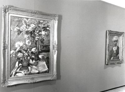 Vista parcial de la exposición Lovis Corinth