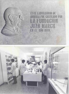 Laboratorio de Química. Obra social, 1970