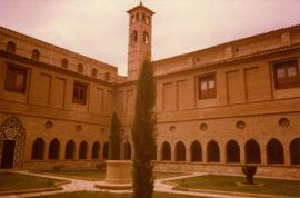 Restauración del Monasterio de Santa María de la Caridad de Tulebras (Navarra). Obra social, 1971