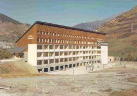 Inauguración del Colegio Juan March. Obra social, 1974