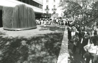 Vistas exteriores de la Fundación Juan March
