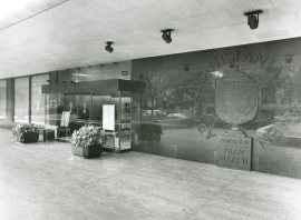 Edificio sede de la Fundación Juan March, 1975
