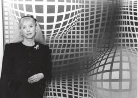 Michèle-Catherine Vasarely. Exposición Vasarely, 2000