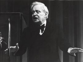 S. V. Obraztsov y el Teatro de Marionetas de Moscú, 1975