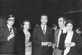 Elisa Ramírez, Paco Valladares y Gemma Cuervo. Entrega de los Premios El Espectador y la Crítica, 1977