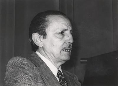 Antonio Buero Vallejo. Entrega de los Premios El Espectador y la Crítica
