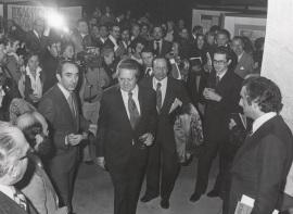 Mario Soares. Presentación de la Revista cultural Presença, 1977