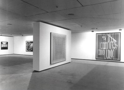 Vista parcial de la exposición Vasarely