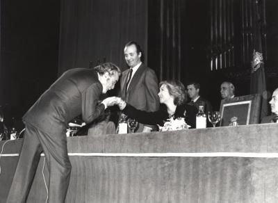 Fernando Rey. Acto de entrega de los Premios de la Sociedad General de Autores Españoles