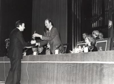 Luis María Ansón. Acto de entrega de los Premios de la Sociedad General de Autores Españoles