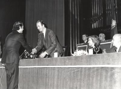 Antonio Ruiz Soler, bailarín. Acto de entrega de los Premios de la Sociedad General de Autores Españoles