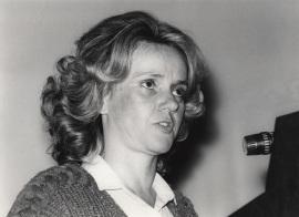Soledad Becerril. Presentación del libro sobre Murillo, 1982