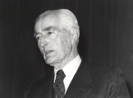 Diego Angulo. Presentación del libro sobre Murillo, 1982