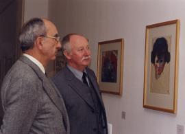 José Luis Yuste Grijalba y Manfred Reuther. Exposición Nolde, Visiones Acuarelas. Colección Fundación Nolde-Seebüll, 2000