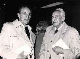 François Jacob y Severo Ochoa. Homenaje a Antonio García Bellido, 1987