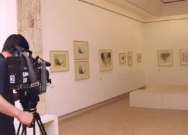 Vista parcial de la exposición Fernando Zóbel Obra gráfica, 2000