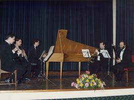 Quinteto Clásico de Barcelona. Ciclo Mozart, Música de Cámara, 1989