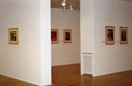 Vista parcial de la exposición Nolde, Visiones Acuarelas. Colección Fundación Nolde-Seebüll, 2000