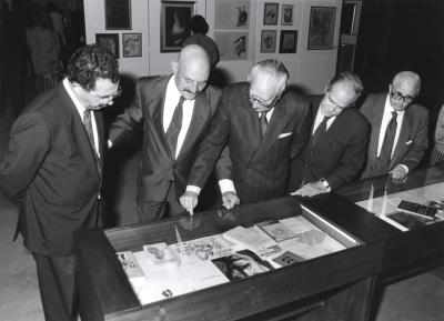José Hierro y José Luis Yuste Grijalba. Encuentro con José Hierro