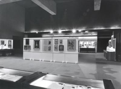 Vista parcial de la exposición. Encuentro con José Hierro